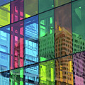 Colored Glass 10 by Randall Weidner
