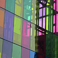 Colored Glass 11 by Randall Weidner