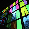 Colored Glass 3 by Randall Weidner