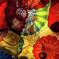 Colored Glass Art by Brigitte Mueller