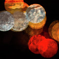 Colored Moons 1 by Doug Sturgess
