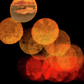 Colored Moons 4 by Doug Sturgess
