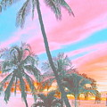 Colored Palms by Lindsay  Ahart