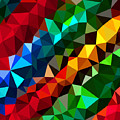 Colorful Abstract by Alex Zel