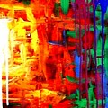 Colorful Abstract2of2 by Teo Alfonso
