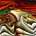 Colorful Abstract33 by Teo Alfonso
