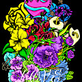 Colorful Art Love Bouquet by William Barron