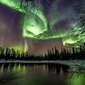 Colorful Auroras by Markus Kiili