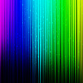 Colorful Background With Vertical Lines by Jose Luis Agudo