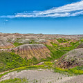 Colorful Badlands by John M Bailey