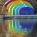 Colorful Bandshell by Denise Mazzocco