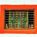 Colorful Bared Window by Javier Flores