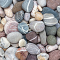Colorful Beach Pebbles by Elena Elisseeva