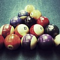 Colorful Billiard Balls by John Myers