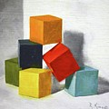 Colorful Blocks by Roena King