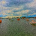 Colorful Boats On Cloudy Day At Boothbay Harbor by Viktor Arsenov