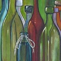 Colorful Bottles by Judy Lybrand
