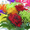 Colorful Bouquet by Kathy Moll