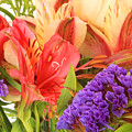 Colorful Bouquet Of Flowers by Robert Hamm