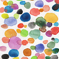 Colorful Bubbles by Linda Woods