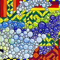 Colorful Bubbles On Tiles by Lynn Hansen