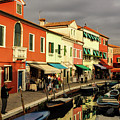 Colorful Burano by Tim Kathka