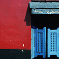 Colorful Caribbean Door by Larry Dale Gordon - Printscapes