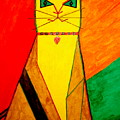 Colorful Cat by Felix Zapata