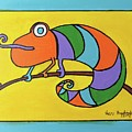 Colorful Chameleon by Sean Brushingham