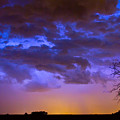 Colorful Cloud To Cloud Lightning by James BO  Insogna