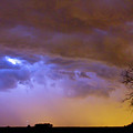 Colorful Cloud To Cloud Lightning Stormy Sky by James BO  Insogna
