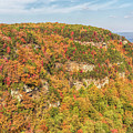 Colorful Cloudland Canyon In The Fall by John M Bailey
