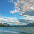 Colorful Clouds At Golden Hour On Lake Wakatipu At Glenorchy, Nz  by Daniela Constantinescu