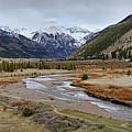 Colorful Colorado Valley by Leda Robertson