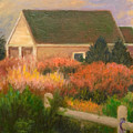 Colorful Cottage Cape Cod by Phyllis Tarlow