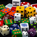 Colorful Dice 2 by Robert Storost