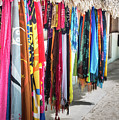 Colorful Dominican Garments by David A Litman