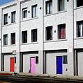 Colorful Doors- By Linda Woods by Linda Woods