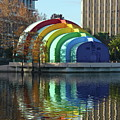 Colorful Downtown Orlando by Denise Mazzocco