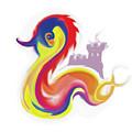 Colorful Dragon by Santi Goma Rodriguez