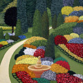 Colorful Garden by Frederic Kohli