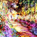 Colorful Garden by Munir Alawi