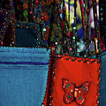 Colorful Hanging Pouches by Stuart Litoff