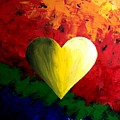 Colorful Heart Valentine Valentine's Day by Teo Alfonso