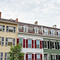 Colorful Historic Row Houses by Edward Fielding