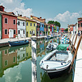 Colorful Homes Of Burano by Kent Sorensen