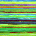 Colorful Horizontal Stripes by Heidi Capitaine