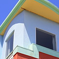 Colorful House In San Francisco by Carol Groenen
