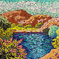 Colorful Hueco Tanks by Candy Mayer