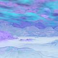 Colorful Icebergs - 3d Render by Elenarts - Elena Duvernay Digital Art